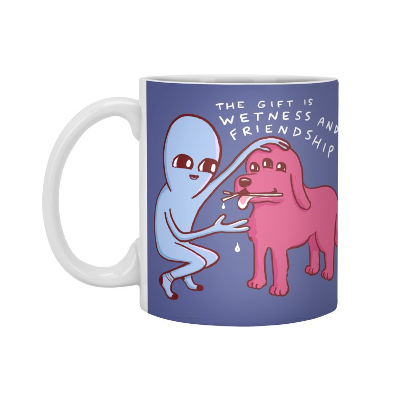 STRANGE PLANET SPECIAL PRODUCT: WETNESS AND FRIENDSHIP Accessories Mug by Nathan W Pyle