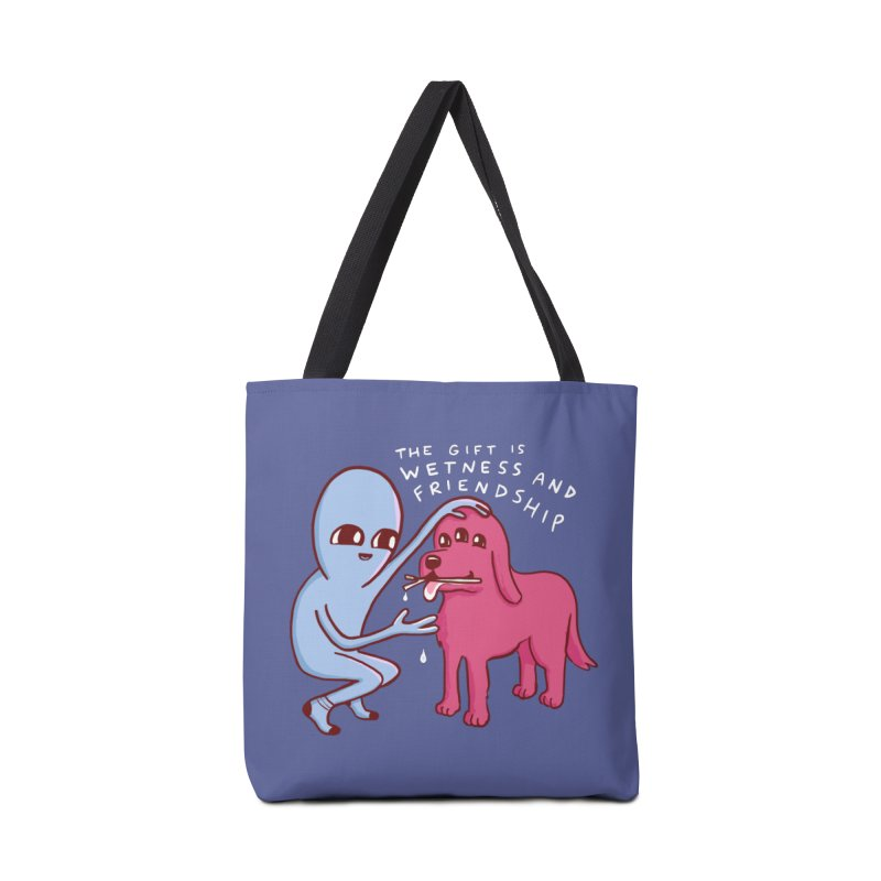 STRANGE PLANET SPECIAL PRODUCT: WETNESS AND FRIENDSHIP Accessories Bag by Nathan W Pyle