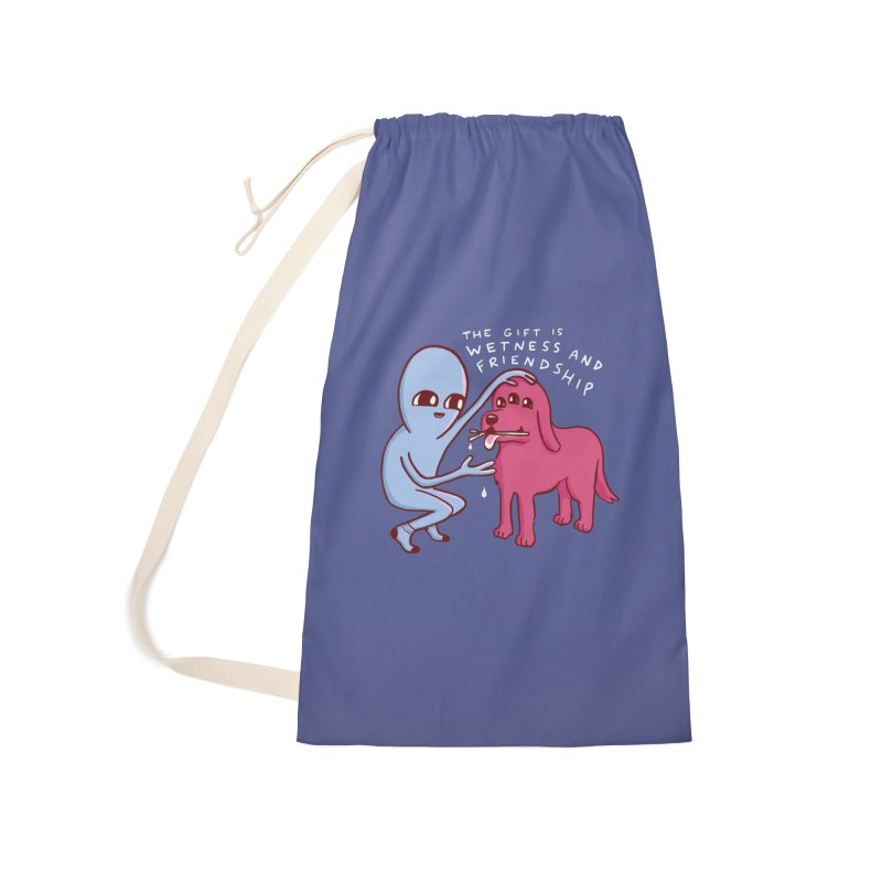 STRANGE PLANET SPECIAL PRODUCT: WETNESS AND FRIENDSHIP Accessories Laundry Bag Bag by Nathan W Pyle