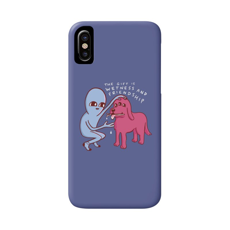 STRANGE PLANET SPECIAL PRODUCT: WETNESS AND FRIENDSHIP Accessories Phone Case by Nathan W Pyle