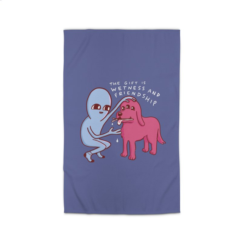 STRANGE PLANET SPECIAL PRODUCT: WETNESS AND FRIENDSHIP Home Rug by Nathan W Pyle