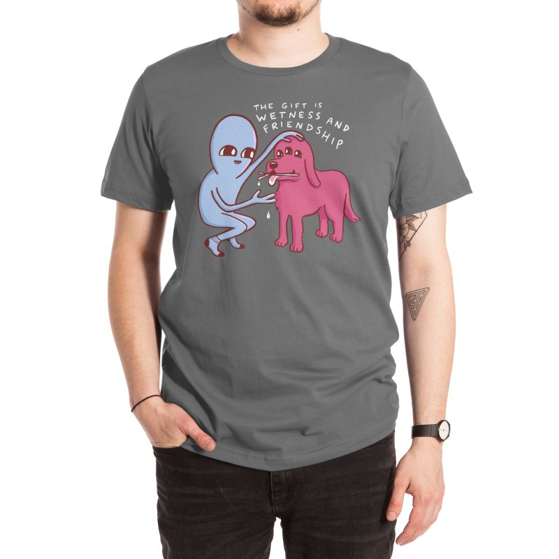 STRANGE PLANET SPECIAL PRODUCT: WETNESS AND FRIENDSHIP Men's T-Shirt by Nathan W Pyle