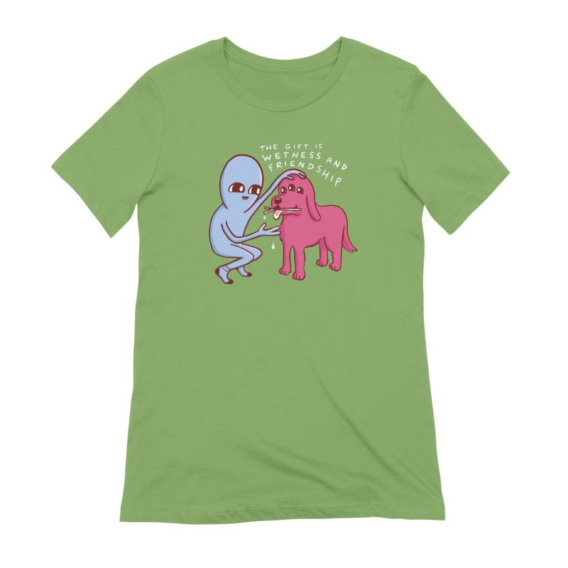 STRANGE PLANET SPECIAL PRODUCT: WETNESS AND FRIENDSHIP Women's Extra Soft T-Shirt by Nathan W Pyle