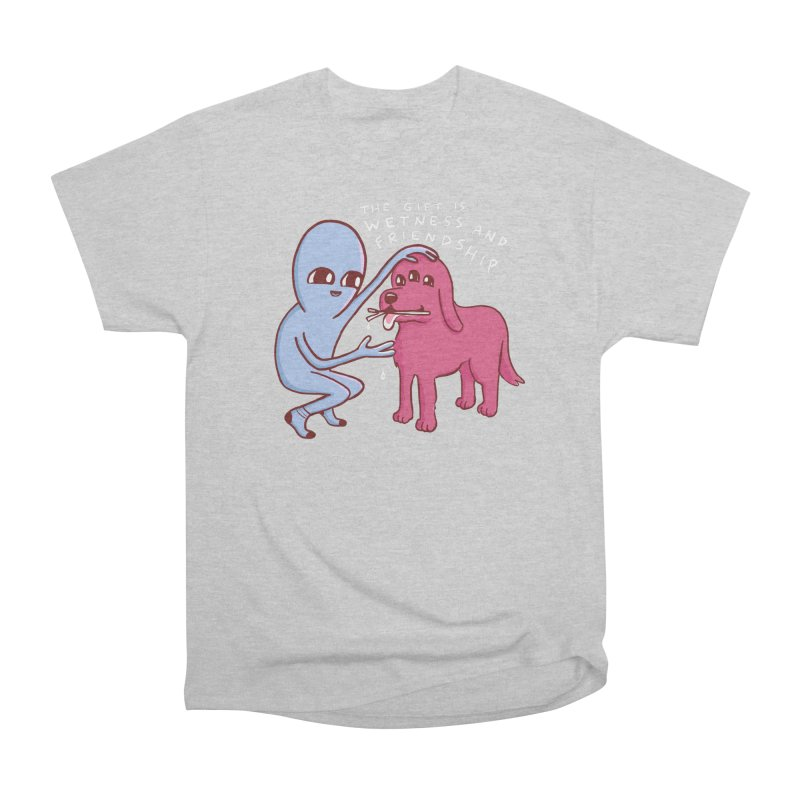 STRANGE PLANET SPECIAL PRODUCT: WETNESS AND FRIENDSHIP Men's T-Shirt by Nathan W Pyle Shop | Strange Planet Store | Thread