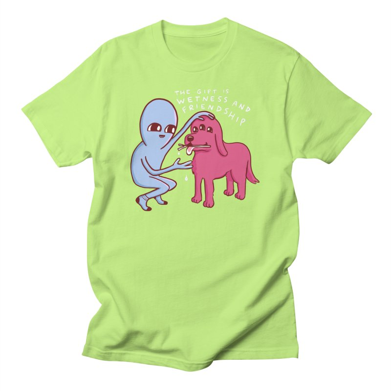 STRANGE PLANET SPECIAL PRODUCT: WETNESS AND FRIENDSHIP Men's T-Shirt by Nathan W Pyle Shop   Strange Planet Store   Thread