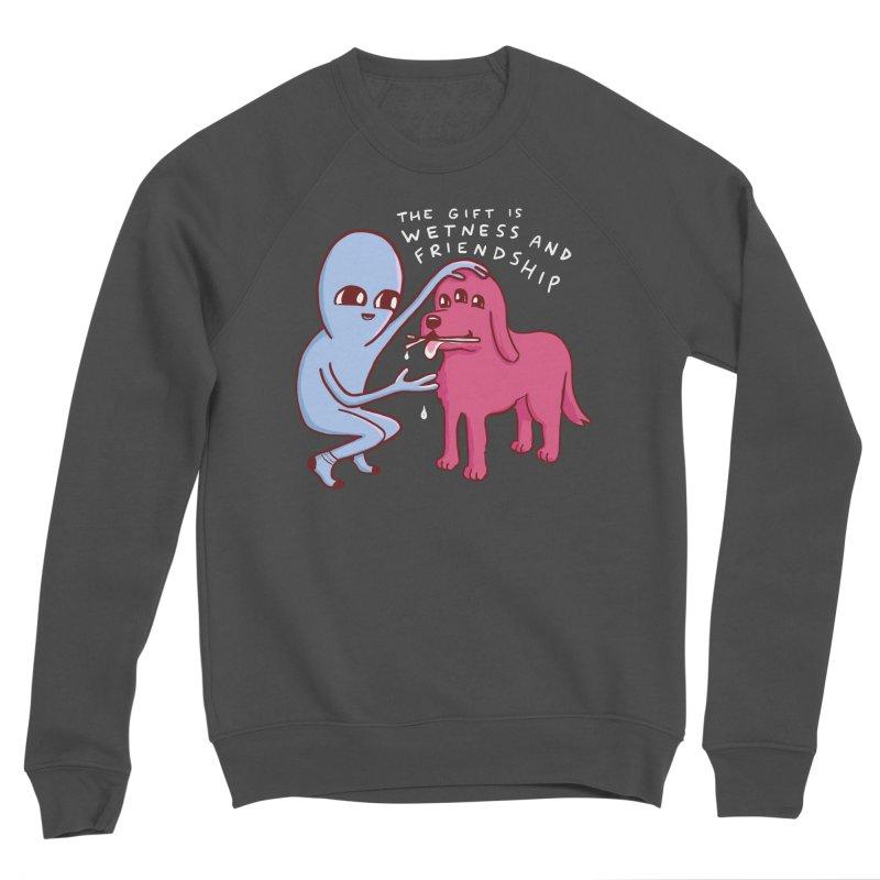 STRANGE PLANET SPECIAL PRODUCT: WETNESS AND FRIENDSHIP Men's Sponge Fleece Sweatshirt by Nathan W Pyle