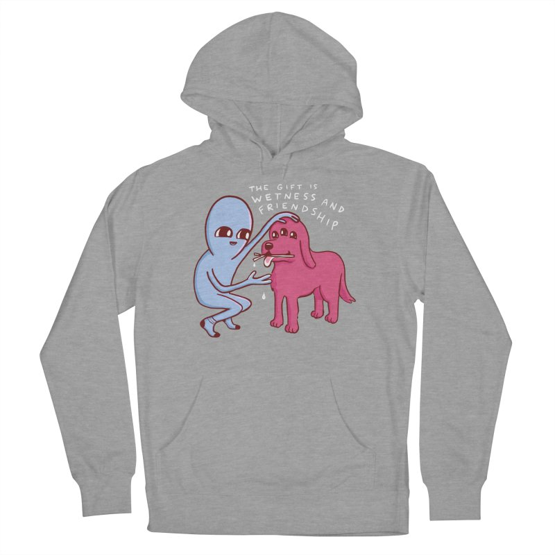 STRANGE PLANET SPECIAL PRODUCT: WETNESS AND FRIENDSHIP Men's French Terry Pullover Hoody by Nathan W Pyle