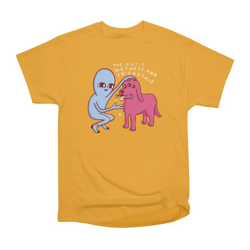 STRANGE PLANET SPECIAL PRODUCT: WETNESS AND FRIENDSHIP Men's Heavyweight T-Shirt by Nathan W Pyle