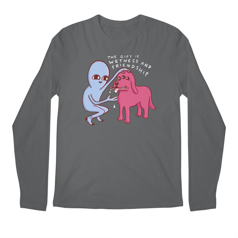 STRANGE PLANET SPECIAL PRODUCT: WETNESS AND FRIENDSHIP Men's Longsleeve T-Shirt by Nathan W Pyle
