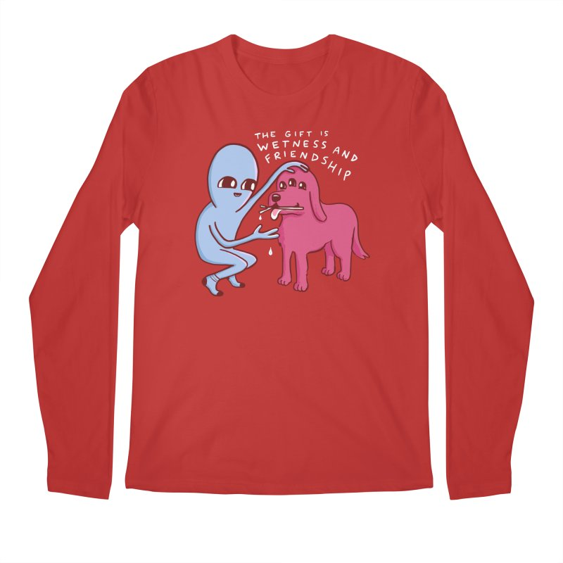 STRANGE PLANET SPECIAL PRODUCT: WETNESS AND FRIENDSHIP Men's Regular Longsleeve T-Shirt by Nathan W Pyle