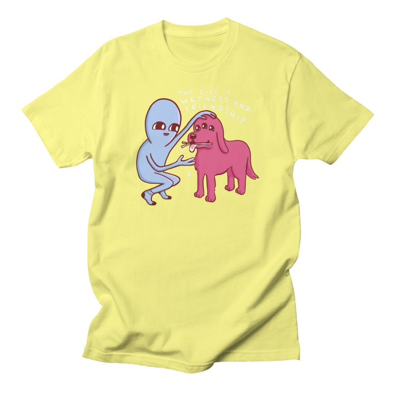 STRANGE PLANET SPECIAL PRODUCT: WETNESS AND FRIENDSHIP Women's Regular Unisex T-Shirt by Nathan W Pyle