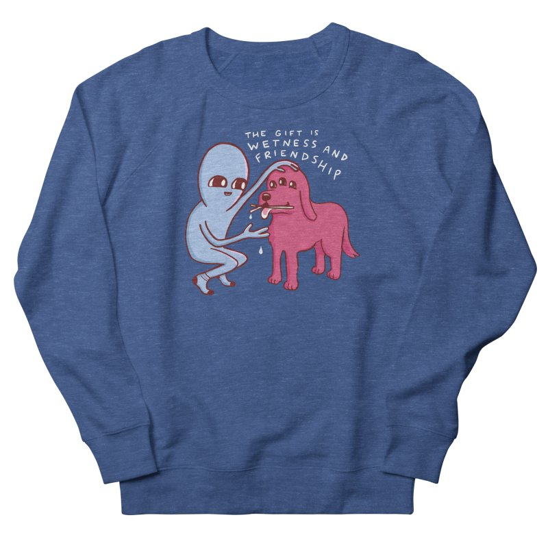 STRANGE PLANET SPECIAL PRODUCT: WETNESS AND FRIENDSHIP Women's French Terry Sweatshirt by Nathan W Pyle