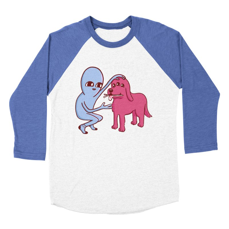 STRANGE PLANET SPECIAL PRODUCT: WETNESS AND FRIENDSHIP Women's Baseball Triblend Longsleeve T-Shirt by Nathan W Pyle