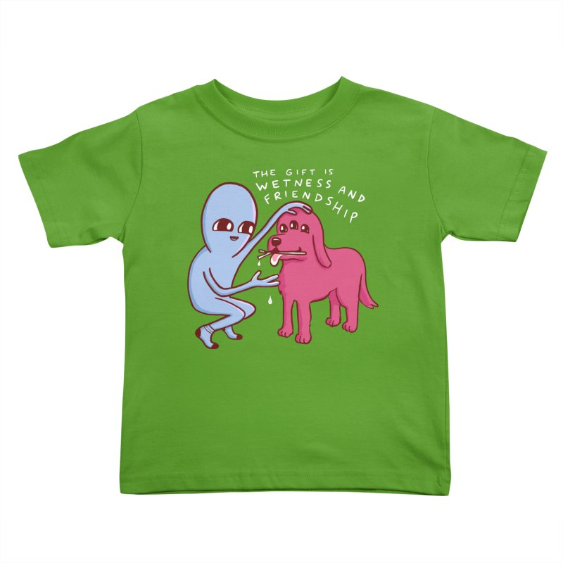 STRANGE PLANET SPECIAL PRODUCT: WETNESS AND FRIENDSHIP Kids Toddler T-Shirt by Nathan W Pyle