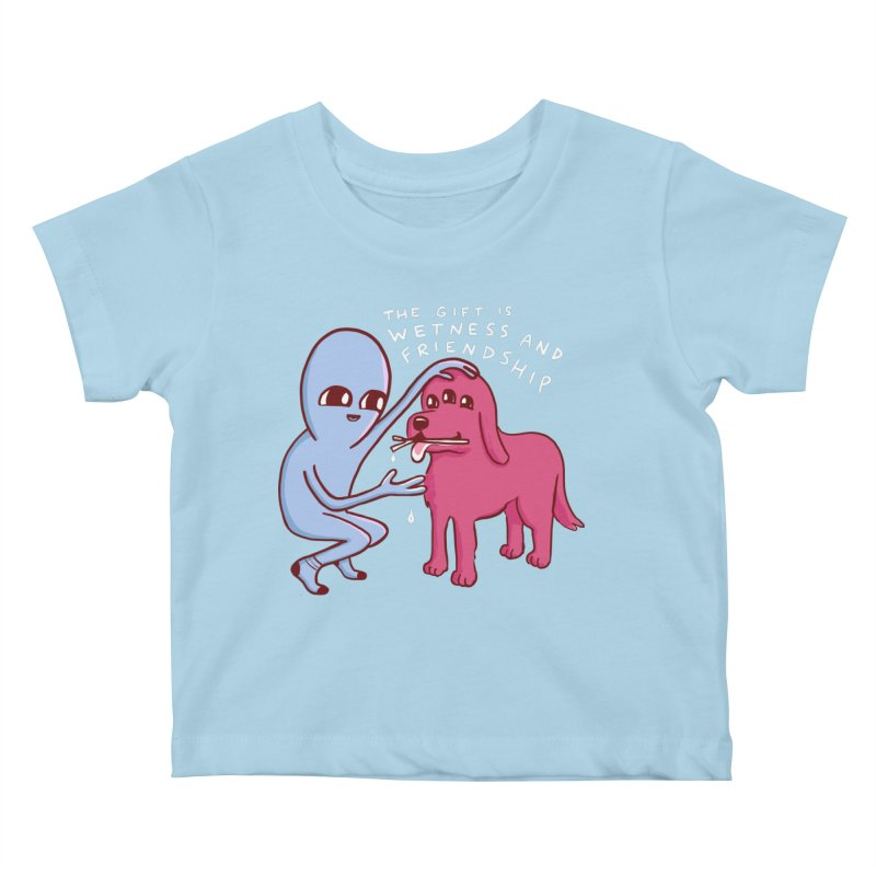 STRANGE PLANET SPECIAL PRODUCT: WETNESS AND FRIENDSHIP Kids Baby T-Shirt by Nathan W Pyle
