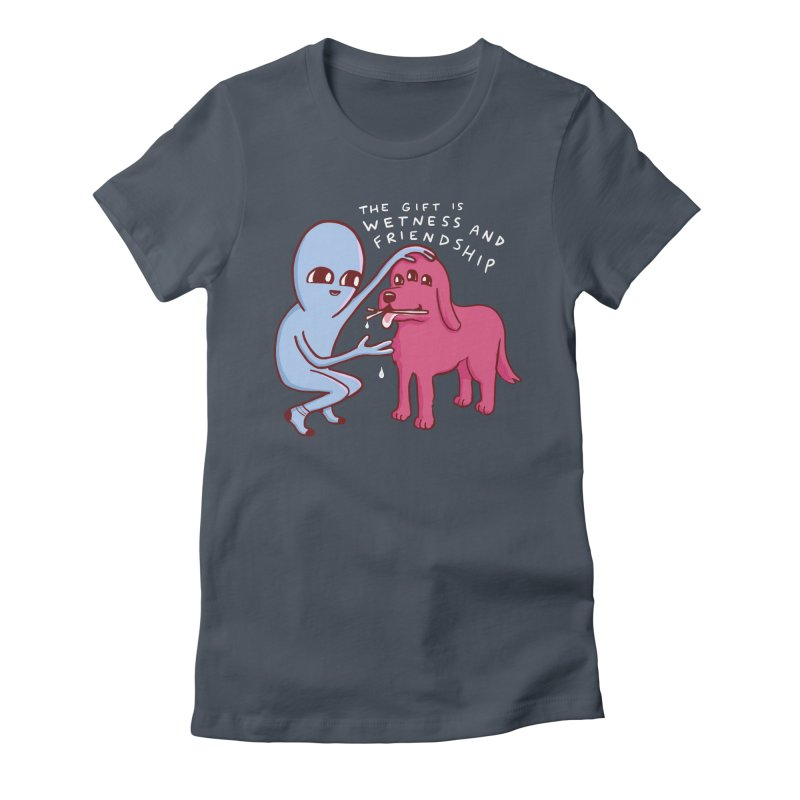 STRANGE PLANET SPECIAL PRODUCT: WETNESS AND FRIENDSHIP Women's T-Shirt by Nathan W Pyle Shop   Strange Planet Store   Thread