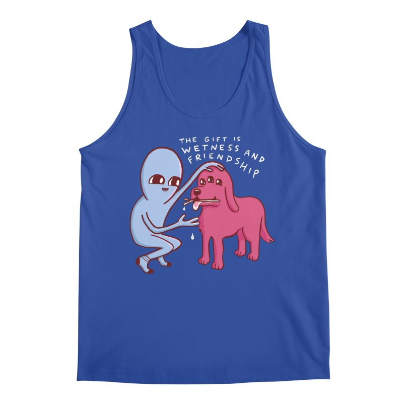 STRANGE PLANET SPECIAL PRODUCT: WETNESS AND FRIENDSHIP Men's Tank by Nathan W Pyle