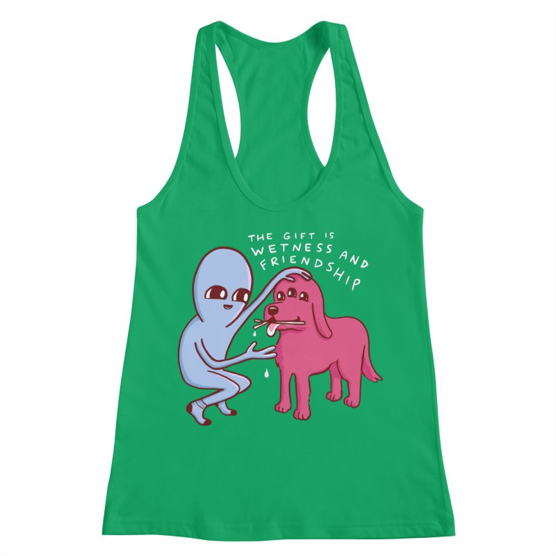 STRANGE PLANET SPECIAL PRODUCT: WETNESS AND FRIENDSHIP Women's Tank by Nathan W Pyle