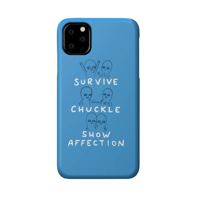 STRANGE PLANET SPECIAL PRODUCT: SURVIVE CHUCKLE SHOW AFFECTION CHARACTERs Accessories Phone Case by Nathan W Pyle