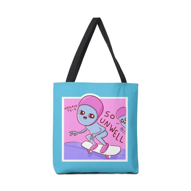 STRANGE PLANET SPECIAL PRODUCT: SO UNWELL Accessories Tote Bag Bag by Nathan W Pyle