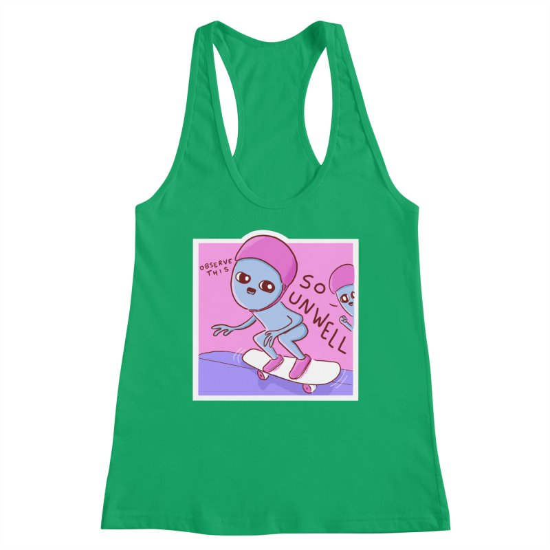 STRANGE PLANET SPECIAL PRODUCT: SO UNWELL Women's Tank by Nathan W Pyle