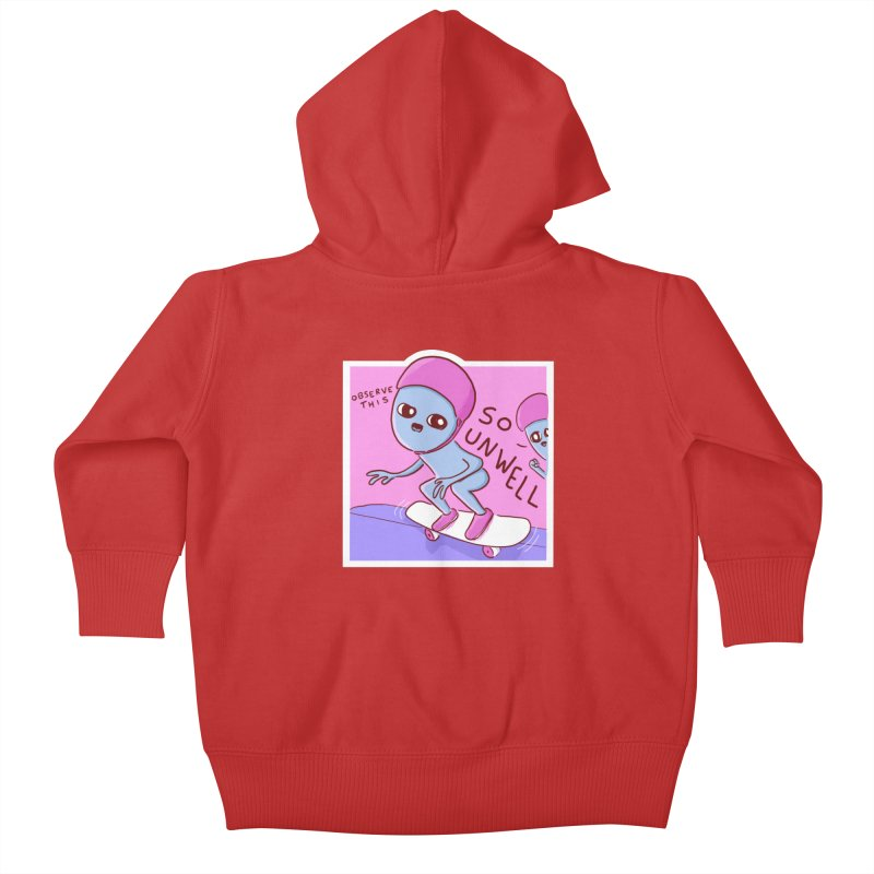 STRANGE PLANET SPECIAL PRODUCT: SO UNWELL Kids Baby Zip-Up Hoody by Nathan W Pyle Shop | Strange Planet Store | Thread