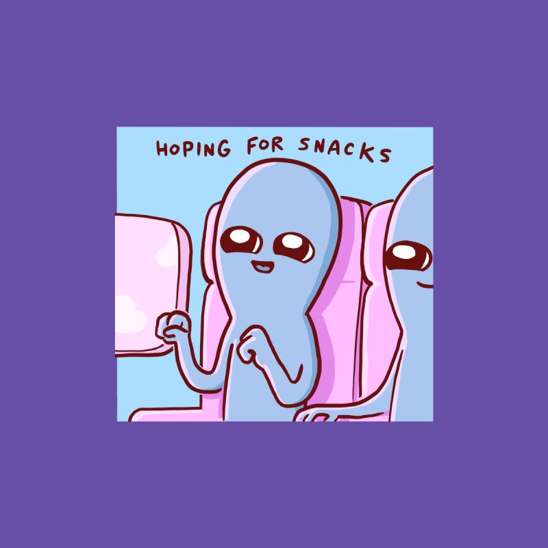 STRANGE PLANET SPECIAL PRODUCT: HOPING FOR SNACKS Accessories Face Mask by Nathan W Pyle