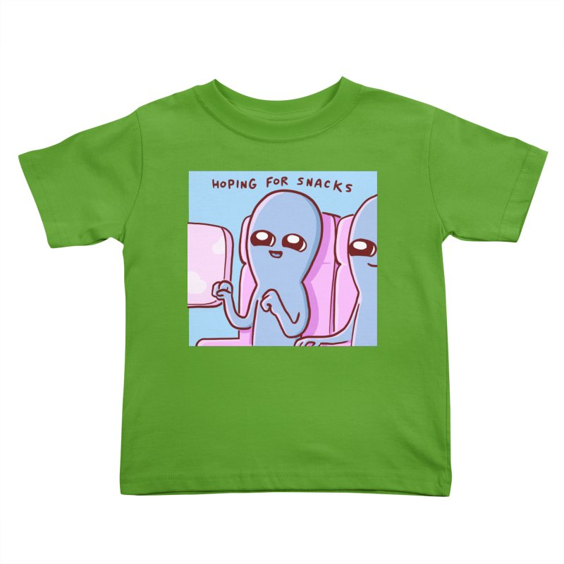STRANGE PLANET SPECIAL PRODUCT: HOPING FOR SNACKS Kids Toddler T-Shirt by Nathan W Pyle