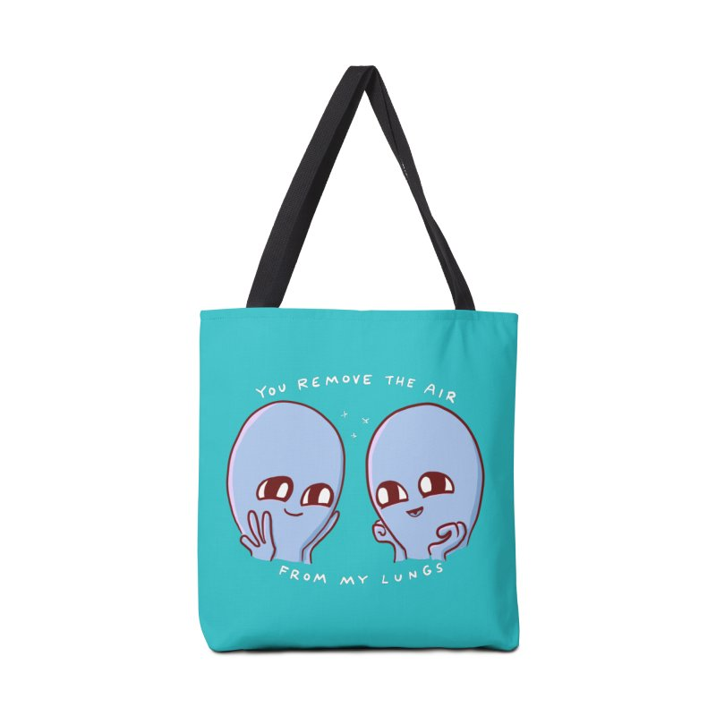 STRANGE PLANET SPECIAL PRODUCT: YOU REMOVE THE AIR FROM MY LUNGS Accessories Tote Bag Bag by Nathan W Pyle