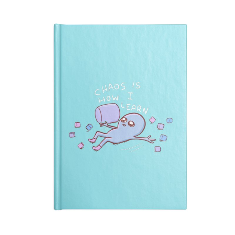 STRANGE PLANET SPECIAL PRODUCT: CHAOS IS HOW I LEARN Accessories Notebook by Nathan W Pyle Shop   Strange Planet Store   Thread