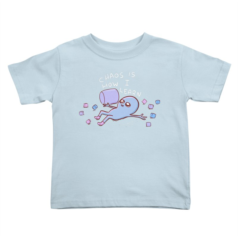 STRANGE PLANET SPECIAL PRODUCT: CHAOS IS HOW I LEARN Kids Toddler T-Shirt by Nathan W Pyle Shop | Strange Planet Store | Thread
