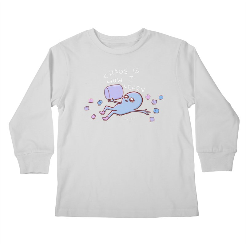 STRANGE PLANET SPECIAL PRODUCT: CHAOS IS HOW I LEARN Kids Longsleeve T-Shirt by Nathan W Pyle Shop   Strange Planet Store   Thread