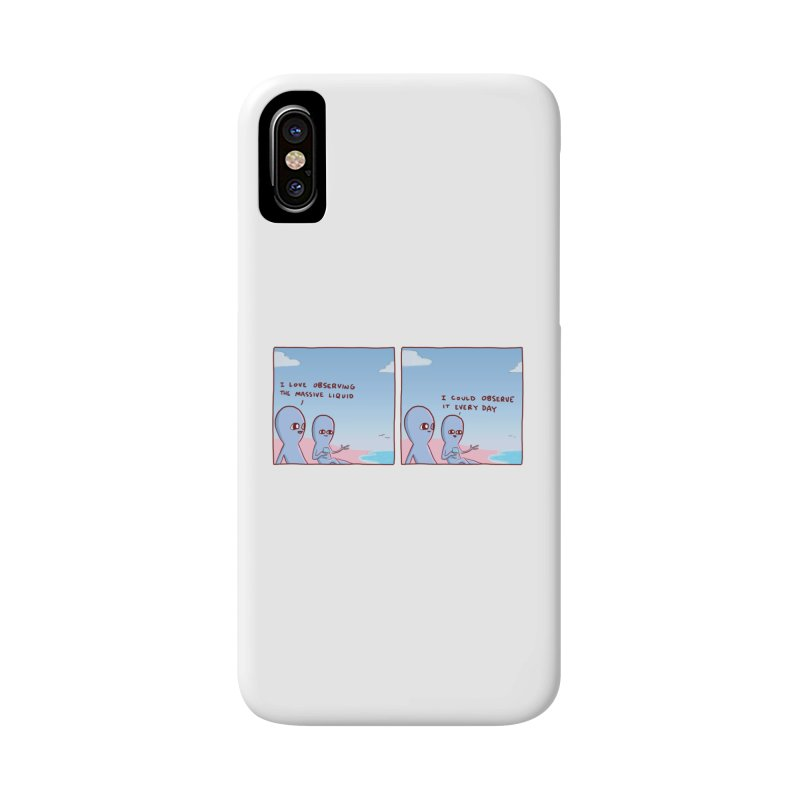 STRANGE PLANET SPECIAL PRODUCT: MASSIVE LIQUID Accessories Phone Case by Nathan W Pyle