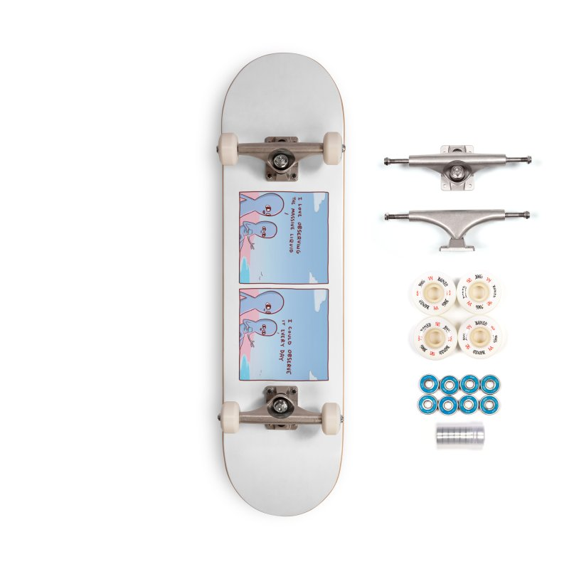 STRANGE PLANET SPECIAL PRODUCT: MASSIVE LIQUID Accessories Complete - Premium Skateboard by Nathan W Pyle