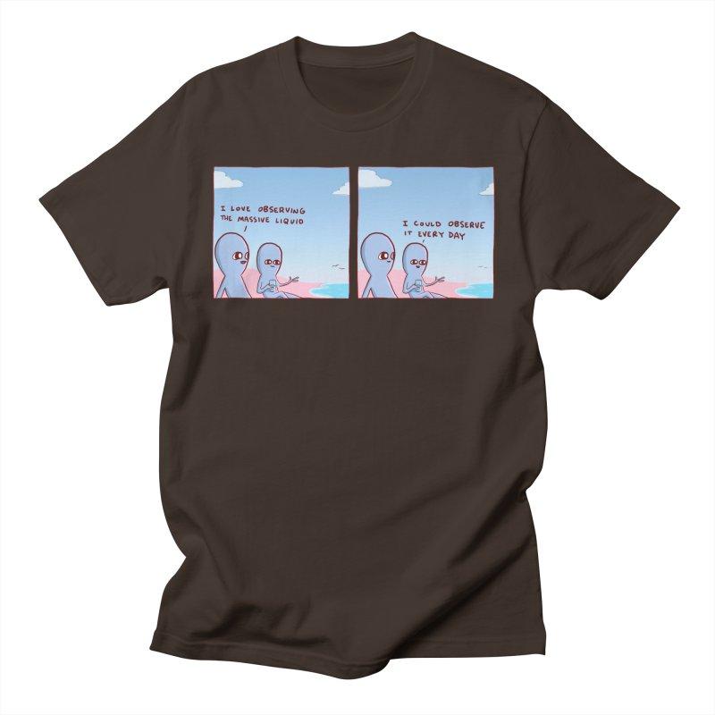 STRANGE PLANET SPECIAL PRODUCT: MASSIVE LIQUID Men's T-Shirt by Nathan W Pyle Shop | Strange Planet Store | Thread