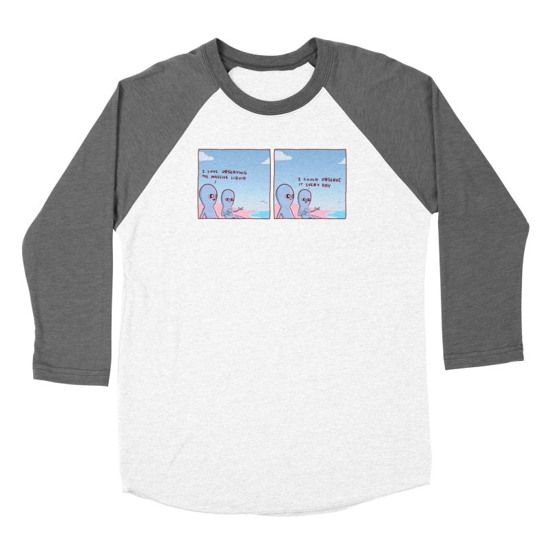 STRANGE PLANET SPECIAL PRODUCT: MASSIVE LIQUID Women's Longsleeve T-Shirt by Nathan W Pyle