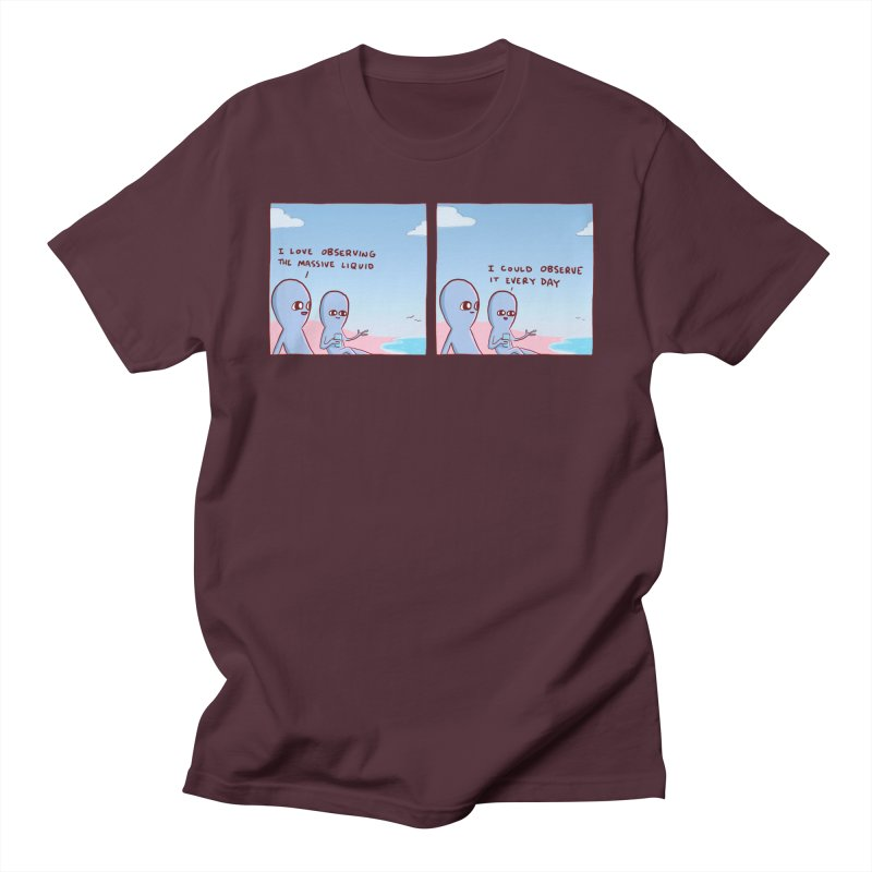 STRANGE PLANET SPECIAL PRODUCT: MASSIVE LIQUID Men's T-Shirt by Nathan W Pyle Shop   Strange Planet Store   Thread