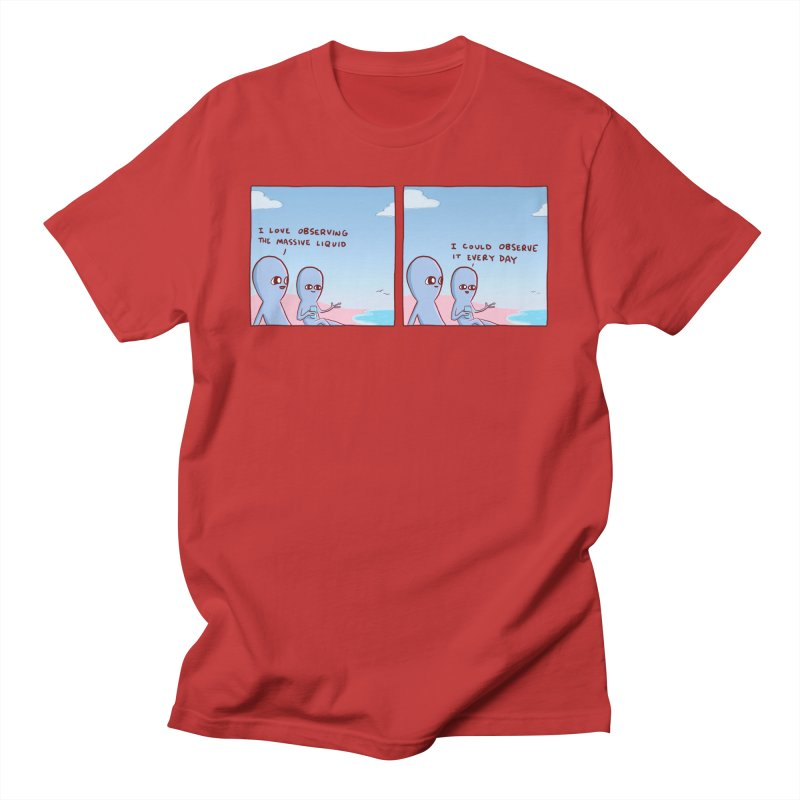 STRANGE PLANET SPECIAL PRODUCT: MASSIVE LIQUID Men's T-Shirt by Nathan W Pyle