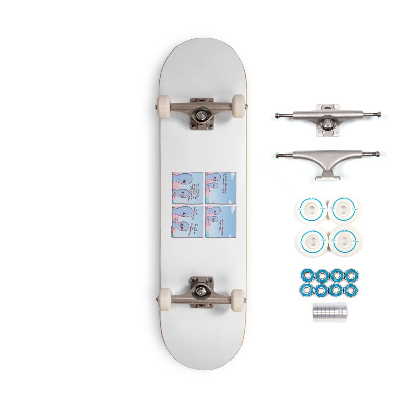 STRANGE PLANET SPECIAL PRODUCT: THE FARFROMLIQUID Accessories Skateboard by Nathan W Pyle