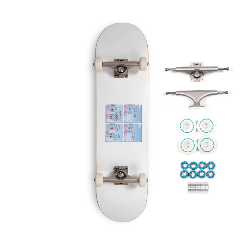 STRANGE PLANE SPECIAL PRODUCT: THE FARFROMLIQUID Accessories Complete - Basic Skateboard by Nathan W Pyle