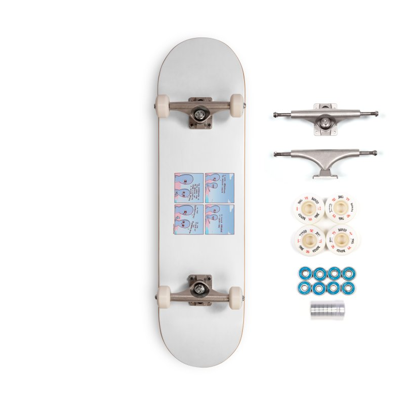 STRANGE PLANE SPECIAL PRODUCT: THE FARFROMLIQUID Accessories Complete - Premium Skateboard by Nathan W Pyle