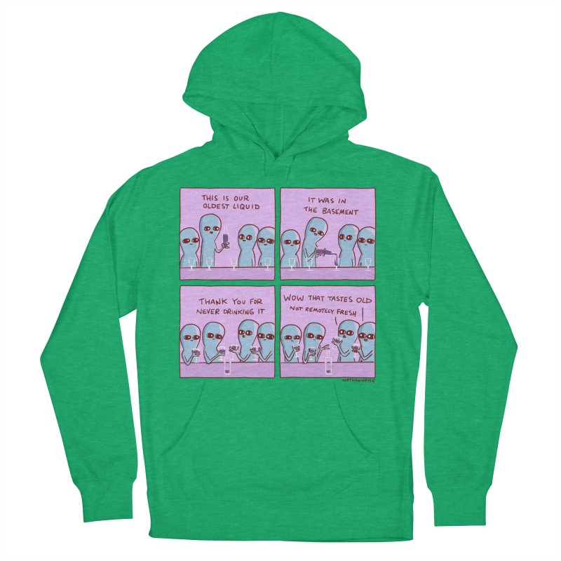 STRANGE PLANET: THIS IS OLDEST LIQUID Women's French Terry Pullover Hoody by Nathan W Pyle