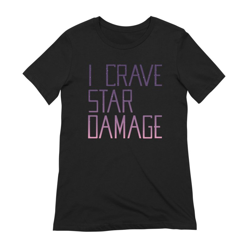 STRANGE PLANET: STAR DAMAGE - APPAREL Women's Extra Soft T-Shirt by Nathan W Pyle