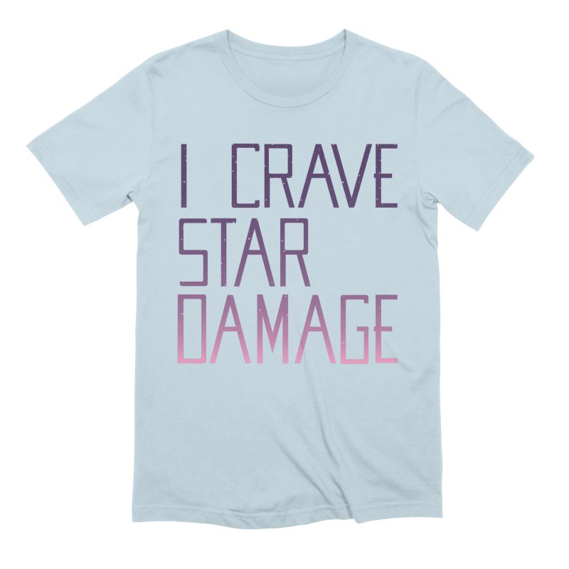 STRANGE PLANET: STAR DAMAGE - APPAREL Men's Extra Soft T-Shirt by Nathan W Pyle