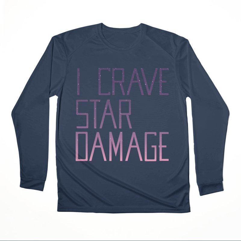 STRANGE PLANET: STAR DAMAGE - APPAREL Men's Performance Longsleeve T-Shirt by Nathan W Pyle