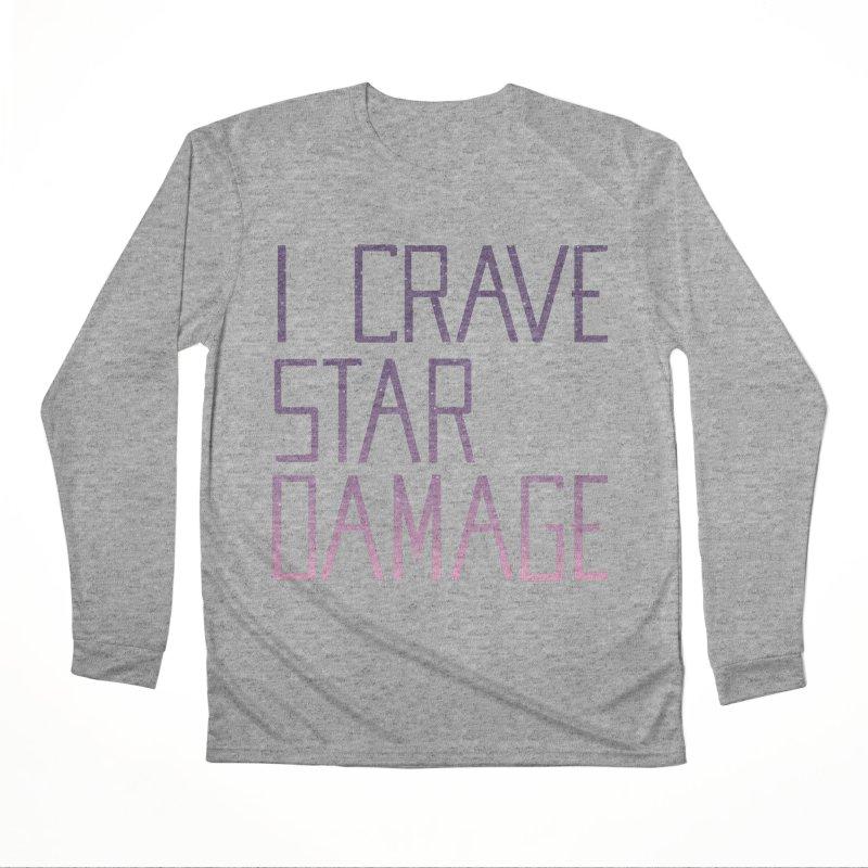 STRANGE PLANET: STAR DAMAGE - APPAREL Women's Performance Unisex Longsleeve T-Shirt by Nathan W Pyle