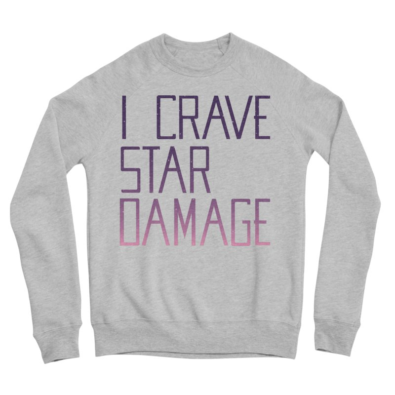 STRANGE PLANET: STAR DAMAGE - APPAREL Women's Sponge Fleece Sweatshirt by Nathan W Pyle