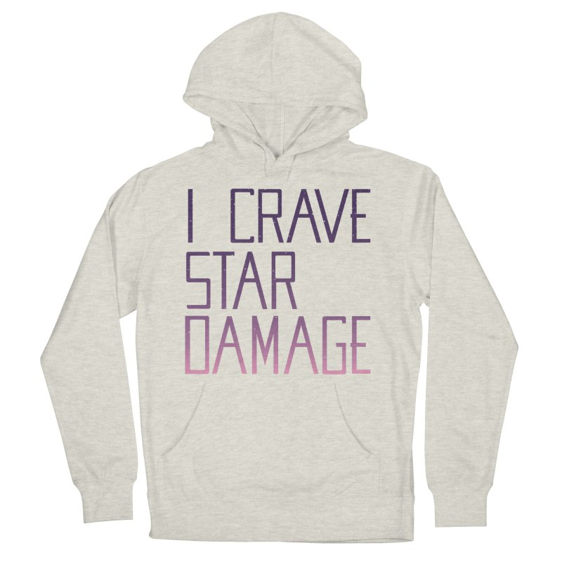 STRANGE PLANET: STAR DAMAGE - APPAREL Women's French Terry Pullover Hoody by Nathan W Pyle