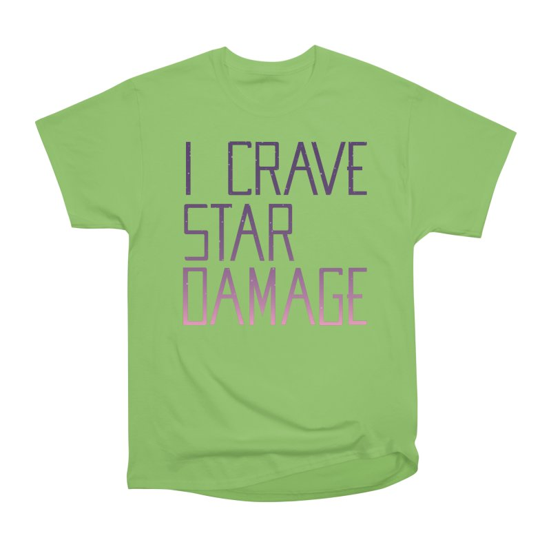 STRANGE PLANET: STAR DAMAGE - APPAREL Men's Heavyweight T-Shirt by Nathan W Pyle