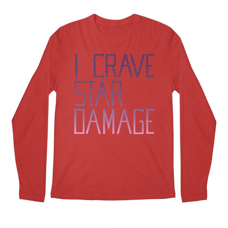 STRANGE PLANET: STAR DAMAGE - APPAREL Men's Regular Longsleeve T-Shirt by Nathan W Pyle